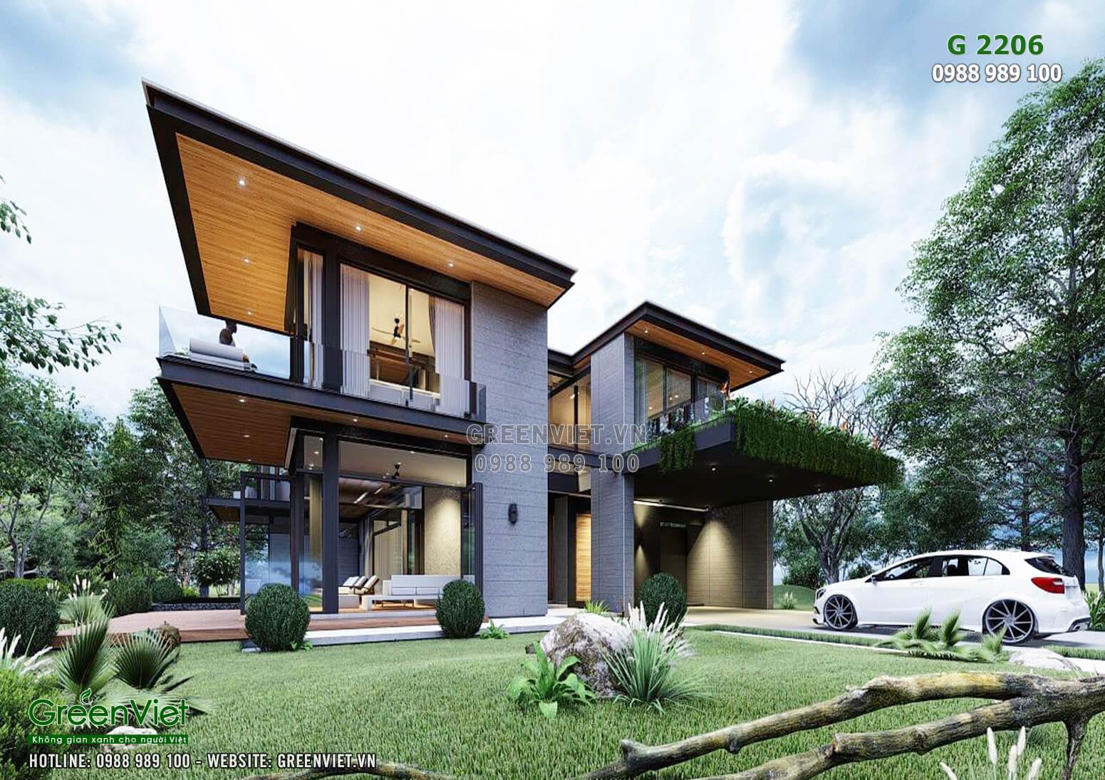 Hình ảnh: Villa hiện đại và sang trọng phù hợp với mọi gia đình - G2206