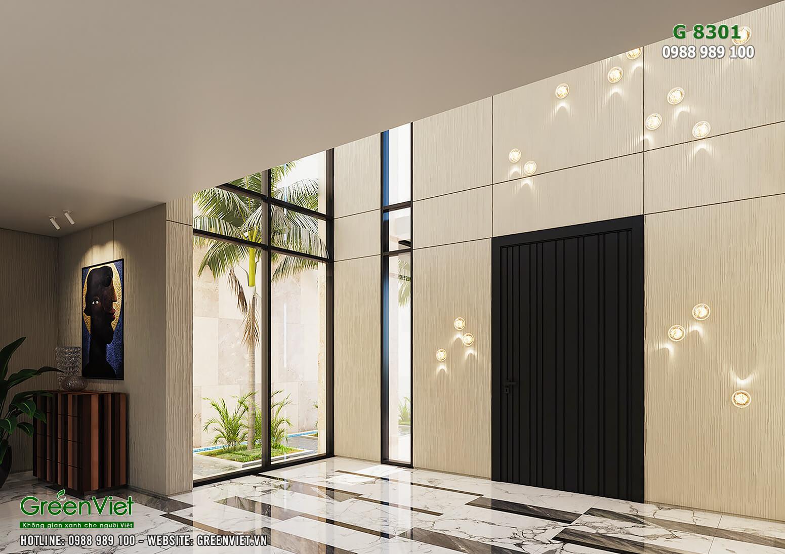 Hình ảnh: Thiết kế nội thất villa sang trọng - G8301